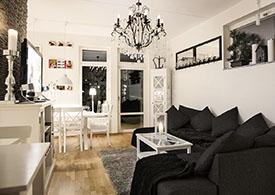 kurvig vit stora tuttar nära Stockholm